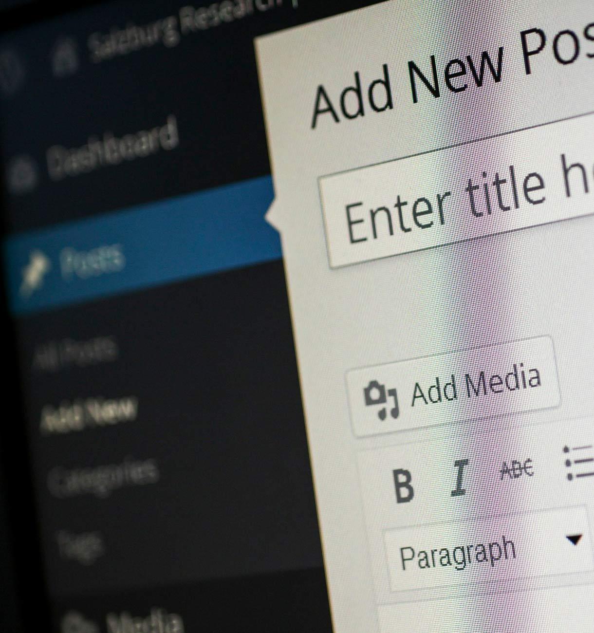 visuel backfont wordpress